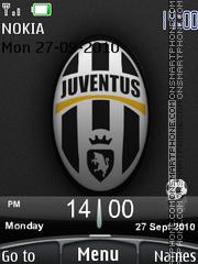 Juventus 2010 theme screenshot