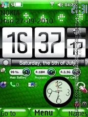 Скриншот темы Htc Nokia Clock