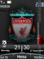 Liverpool 2010 theme screenshot