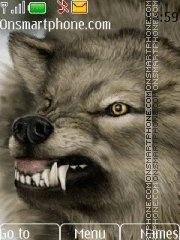Evil Wolf theme screenshot