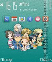 Seven swords theme screenshot