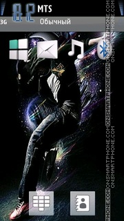 Dancer 04 theme screenshot