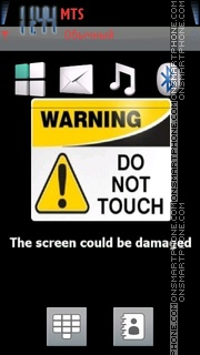 Do Not Touch 02 Theme-Screenshot