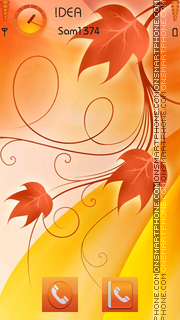 Autumn v5 theme screenshot