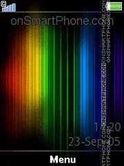 Rainbow 07 theme screenshot