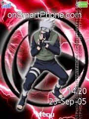 Capture d'écran Kakashi Red 01 thème