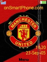 Man Utd 04 theme screenshot