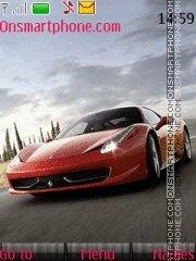 Ferrari 458 theme screenshot