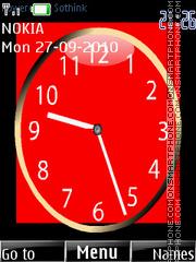 Uefa Clock es el tema de pantalla