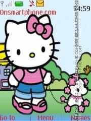 Скриншот темы Cute Kitty 03