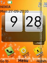 Orange Touch 01 theme screenshot