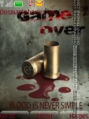 Game Over 04 theme screenshot