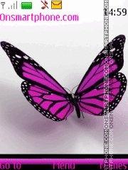 Purple Butterfly 01 es el tema de pantalla