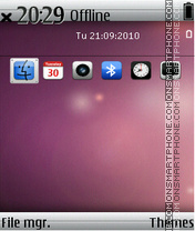 Iphone 07 theme screenshot