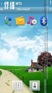 Nice Summer theme screenshot