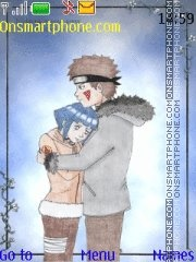 Hinata X Kiba theme screenshot