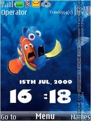 Nemo clock theme screenshot