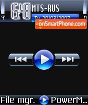 Windows Media Player 11 V2 theme screenshot
