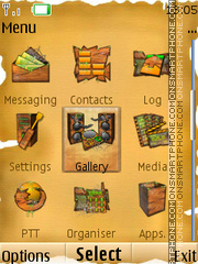 Ancient Times 02 theme screenshot