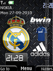 Real Madrid Best theme screenshot