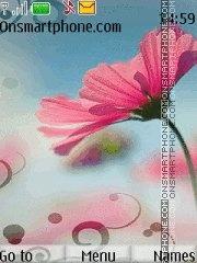 Just Flower es el tema de pantalla