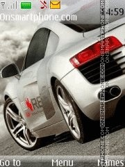 Audi r8 21 theme screenshot