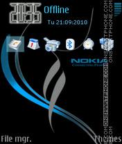 Скриншот темы Nokia xpress music 09