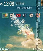 Capture d'écran Fzhlol thème