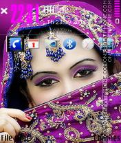 Beautifu face theme screenshot