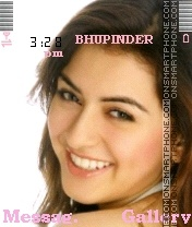 Hansika3 theme screenshot