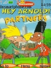 Hey Arnold 02 theme screenshot