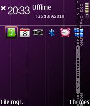 Noble tema screenshot