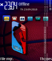 Nba 04 theme screenshot