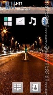 City Night 02 theme screenshot