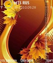 Leaves-art theme screenshot
