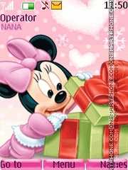 Minnie Present theme screenshot