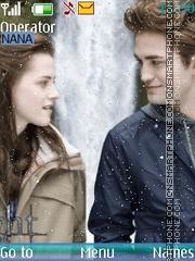 Capture d'écran Twilight Love thème