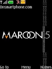 Maroon 5 Theme-Screenshot