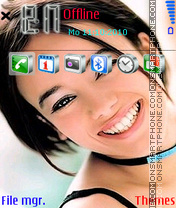 Alizee-01 theme screenshot