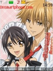 Kaichou wa Maid-sama!! theme screenshot