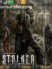 Stalker tema screenshot