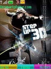 3d Step Up theme screenshot