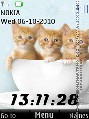 Скриншот темы Cats 03