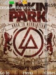 Linkin Park 5801 tema screenshot