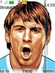 Messi 05 theme screenshot