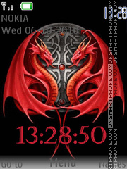 Red Dragons es el tema de pantalla