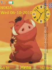 Timon and Pumba 01 theme screenshot