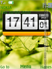 Htc Clock Theme-Screenshot