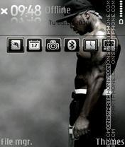 Скриншот темы 50 Cent 04