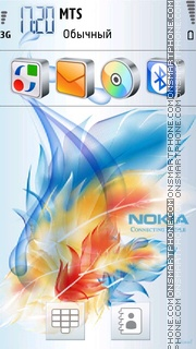 Nokia Touch theme screenshot